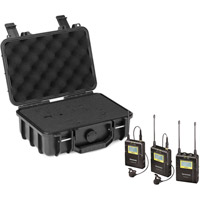Saramonic UwMic9 DTLK - Dual TX LAV Kit PROMO with Case (2 x TX9 + 1 x RX9) UHF Wireless Mic System