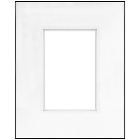 framatic 16 x 20 fineline black aluminum frame with 8 x 12 shadow mat opening 53 frames. Black Bedroom Furniture Sets. Home Design Ideas