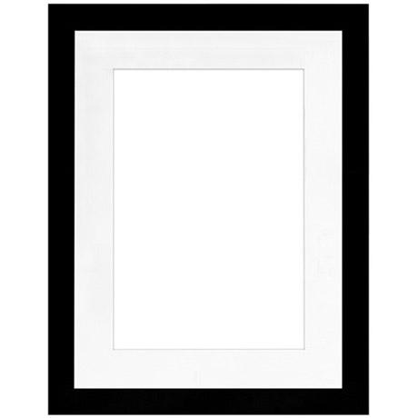 framatic 18 x 24 metro black w 13 x 19 mat frames 01824bx63 vistek canada product detail. Black Bedroom Furniture Sets. Home Design Ideas