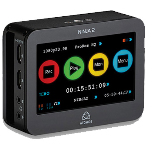 Atomos Ninja-2 DSLR Portable HDMI Field Recorder Video Digital Storage ...: www.vistek.ca/store/ProVideoOnCameraStorageDisplay/268826/atomos...
