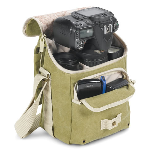 National Geographic Earth Explorer National Geographic 2344 Small Shoulder Bag (Khaki) 51