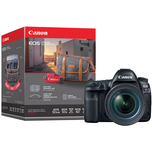 EOS 5D Mark IV with EF 24-105mm f/4L II USM With Bonus Premium Accessory Pack