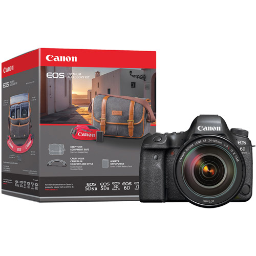 EOS 6D Mark II Body With Premium Accessory Pack
