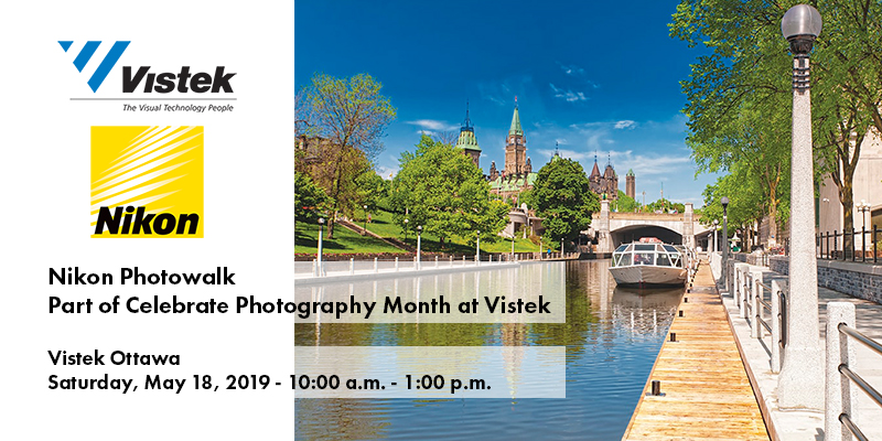 Nikon Photowalk Event Vistek Ottawa