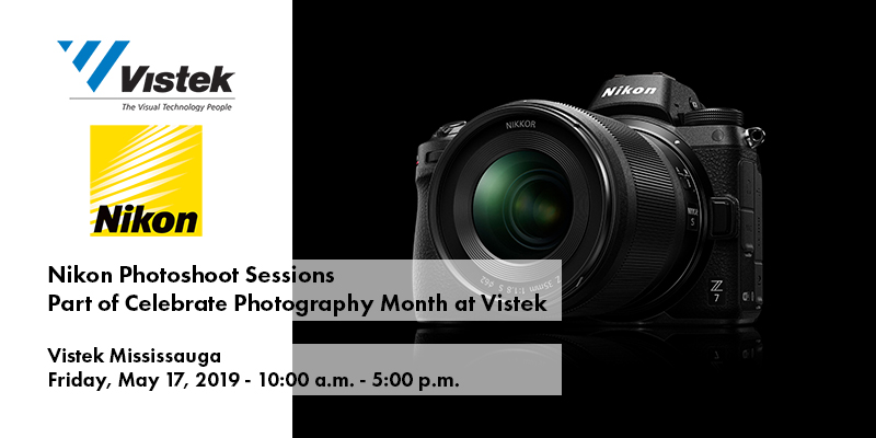 Nikon Photoshoot Sessions Event Vistek Mississauga