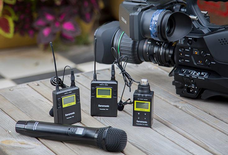 Saramonic - Wireless Lavalier Microphones Wired Field On Camera ... 5bc9ad04f9b6