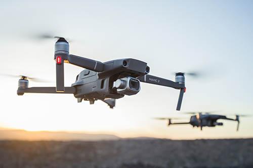 DJI Mavic 2 Pro Drone in the air