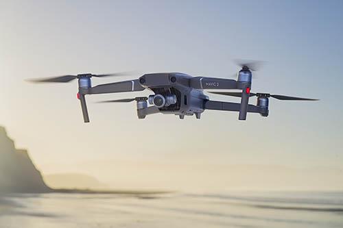 DJI Mavic 2 Zoom Drone in the air