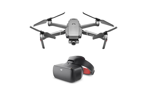 DJI Mavic 2 Zoom Drone with Goggles RE