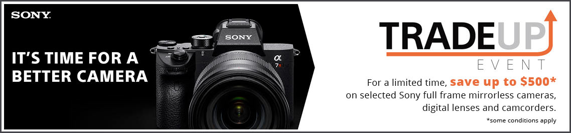 Buy Sony Cameras at Vistek