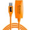 TetherPro USB 3.0 Active Extension 16' Orange