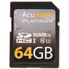 Acumem 64GB SDHC UHS-1 Card 90MB/s