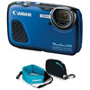 PowerShot D30 Blue w/ Accessory Kit