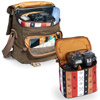 NG A 2540 Camera Bag Brown