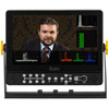 "9"" HDMI/3G-SDI 1920 x 1200 On-Camera Field Monitor w/ Scopes and Sony L Battery Plate"