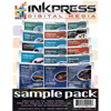 "8.5""x11"" Sample Pack - over 17 sheets of most Inkpress materials"