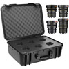 Veydra Mini Prime 4 Lens Kit with 6 Lens Case (Sony-E Mount, Feet)