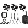 K301PP Pro Plus 3 Light P360 Pro Plus LED Interview Travel Kit