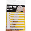 "Rip-Tie 3.5"" Mini Cable Wraps (White, 7-Pack)"