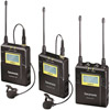 UwMic9 DTLK - Dual TX LAV Kit (2 x TX9 + 1 x RX9) - UHF Wireless Mic System