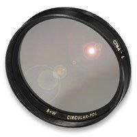 55mm Circular Polarizing Glass Screw In Filter