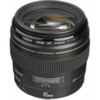 CanonEF 85mm f/1.8 USM Telephoto Lens