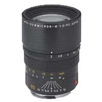 90mm f/2.0 ASPH APO-Summicron- M Black Lens (E55)