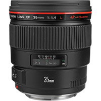 CanonEF 35mm f/1.4 L USM Wide Angle Lens (Demo)