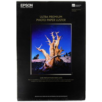 Epson11.7x16.5 Ultra Premium Luster Photo Paper 50 Sheets A3