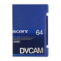 PDV-64N 64 Min. Pro DVCAM Large Cassette (Non-Chip)