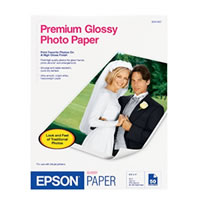 "8.5""x11"" Premium Glossy Photo Paper - 50 Sheets"
