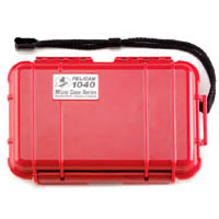 1040 Micro Case Red/Clear