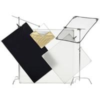 Pro Panel Kit 42x72 Incl. bag Frame,B&Wcloth, 1/2 diff.cloth