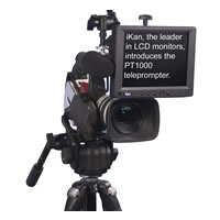 Portable Teleprompter Kit PT1000 w/ Prompt Pro Software