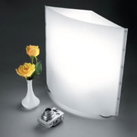 LowelEgo Digital Imaging Light with 2x27W Lamps, Bounce Reflector
