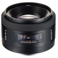50mm f/1.4 A-Mount Lens (A99 & A77)