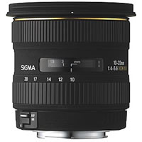 SigmaAF 10-20mm f/4-5.6 EX DC HSM Wide Angle Zoom Lens for Canon