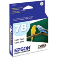 T078520-S Light Cyan Ink Claria Hi-Definition Cartridge for R280,R380,RX580,RX595,RX680,Artisan