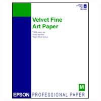"""17""""x22"""" Velvet Fine Art Paper - 25 Sheets"""