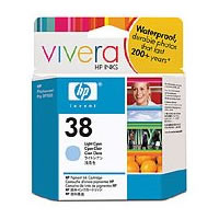 HPC9418A HP38 Light Cyan Pigment Ink Cartridge