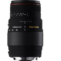 SigmaAF 70-300mm f/4.0-5.6 DG Macro Telephoto Lens for Canon