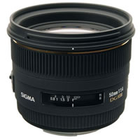 SigmaAF 50mm f/1.4 EX DG HSM Lens for Canon