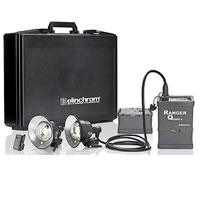 ElinchromRanger Quadra  Lead Gel To Go Speed A Case Set with Quadra RX Pack, 2 x RQ A Heads, 1x Trans, 1xCase