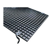 2ft 4 Bank Louver - Black