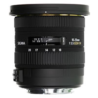 SigmaAF 10-20mm f/3.5 EX DC HSM Lens for Canon