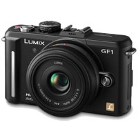 PanasonicLumix DMC-GF1 Black Micro 4/3 Body