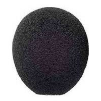 A99WS High Performance Ball Foam Windscreen for Microflex Gooseneck Microphones - Black