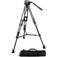 Manfrotto504HD + 546B + MBAG100PN Pro Video Kit