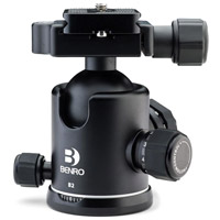 Benro B2 B-Series Triple Action Ball Head Arca-Swiss for Benro 2 and 3 Series Tripods