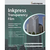 InkPress Media8.5'' X 11'' Transparency Film 7mil 50 Sheets